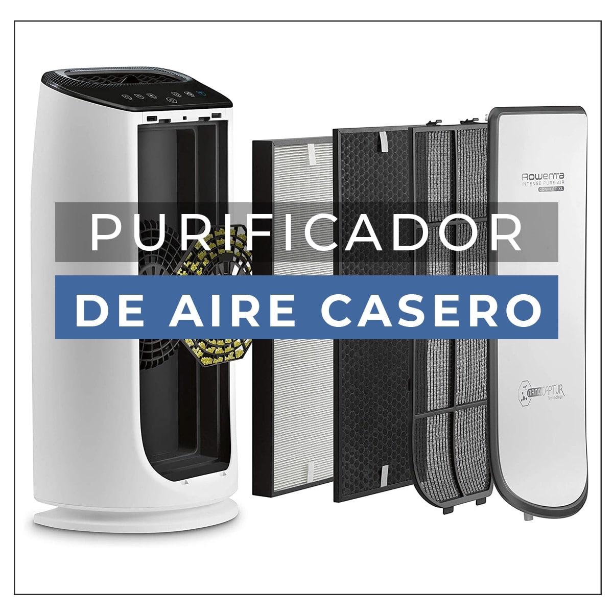 purificador de aire casero