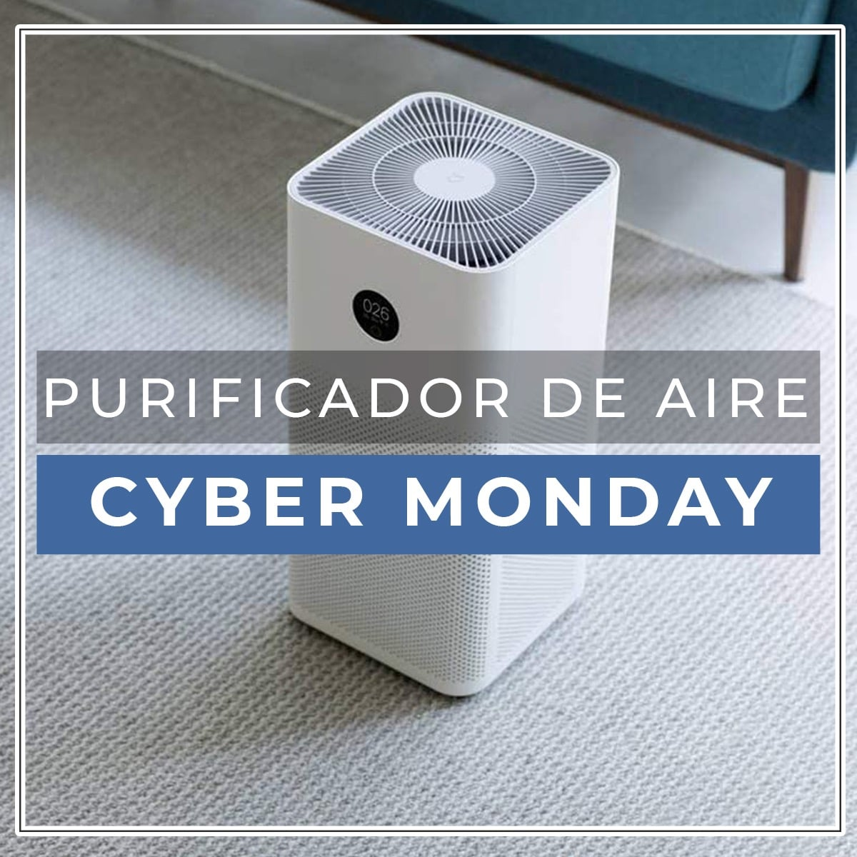 purificador de aire cyber monday